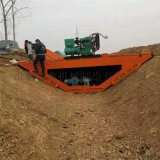 自走式水利工程渠道成型机 梯形水沟滑模机
