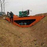 自走式水利工程渠道成型機 梯形水溝滑模機