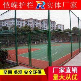 广州喷塑体育场操场球场勾花网护栏产地货源