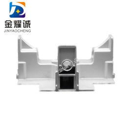 净化铝型材T字接头FFU龙骨T型接口彩钢板吊顶三通
