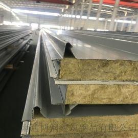 浙江岩棉夹芯板 洁净室彩钢板 净化板