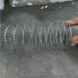 小區 廠房刀片刺絲滾籠  噴塑菱形孔刺網