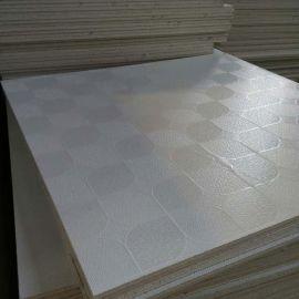 595*595mm pvc 室内装饰贴面石膏天花板
