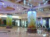 深圳海水魚缸 亞克力魚缸價格 圓柱魚缸制作