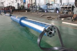 津奥特AT350QJ350-32/1深井潜水泵现货\350吨流量320外径深井泵直销