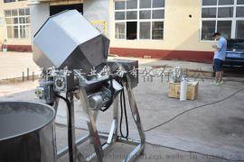 全自动八角拌料机,潍坊枇杷梗上糖机