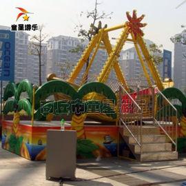 童星游乐好玩的室外儿童游乐设备 迷你海盗船欢迎下单