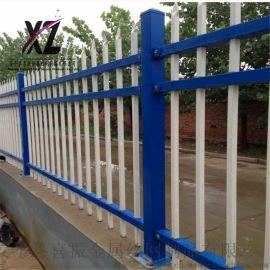锌钢护栏立柱 围墙护栏立柱安装 安全防护围墙栅栏
