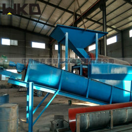 石城大型洗沙机 移动式螺旋洗沙机生产线