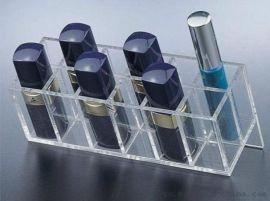 亚克力透明化妆品收纳盒展示架眉笔口红抽屉多层盒子