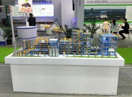 浏阳中科模型供应塑料垃圾焚烧装置工艺动态演示模型