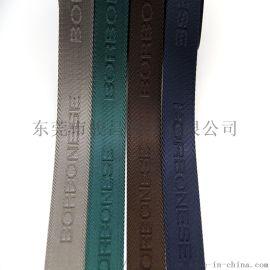 定制提花织带 仿尼龙提花/字母织带服装箱包辅料织带
