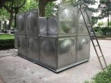 玻璃钢简易水箱 二维水箱 不锈钢水箱摆放图