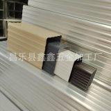 天津建筑屋面用排水管 铝合金水管尺寸厚度