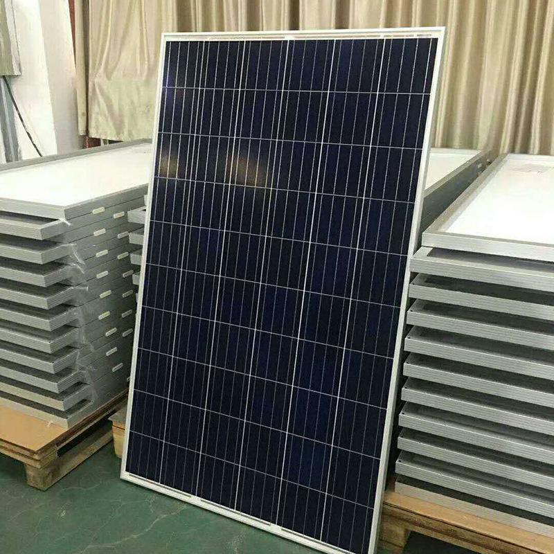 太阳能电池板200w充电光伏板组件定制路灯多晶硅太阳能板
