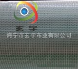 大量现货供应0.3mm300D1.52米PVC透明夹网布 PVC透明网格布