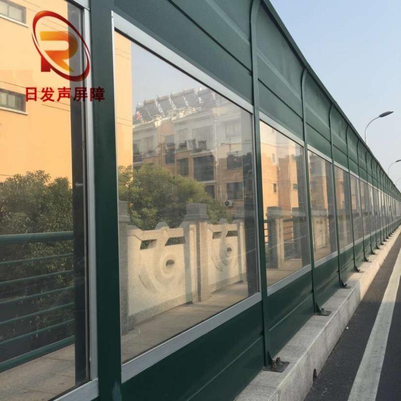 东莞佛山建筑材料屏障板/道路两旁观景透明隔音屏体