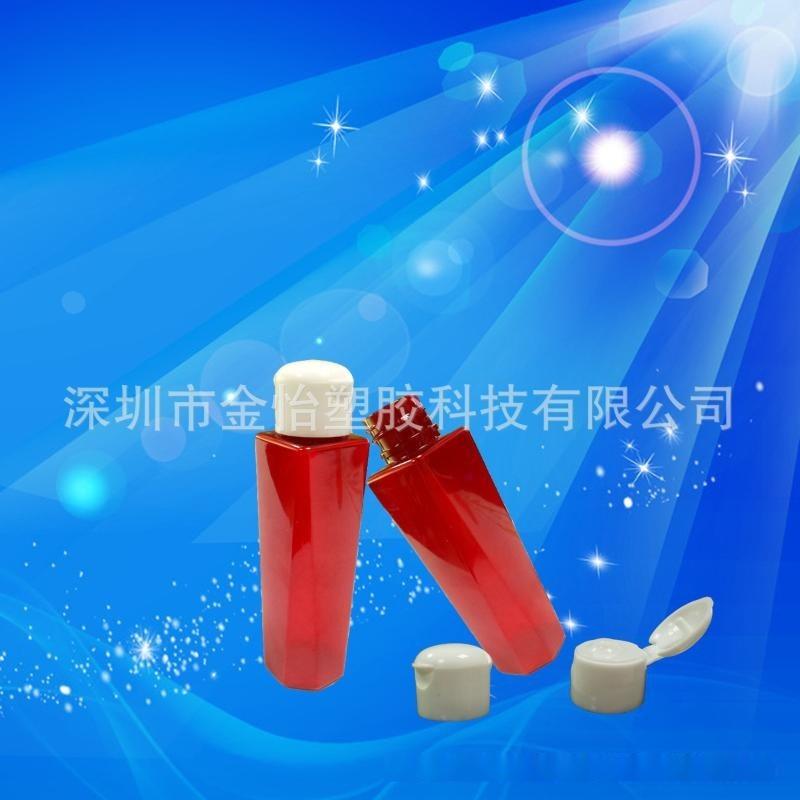 深圳厂家供应PET48ml洗发水瓶48ml酒店沐浴露瓶高端赠品洗发水瓶