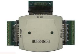 波仕電子:HUB8485G 光隔RS-232/8路RS-485集線轉換器 8路半雙工 5V供電