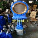 气动插板阀 闸板阀 浆液阀 DN300 DN200