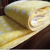 批发外贸纯棉儿童盖毯 双面绒纯棉童毯贴牌加工