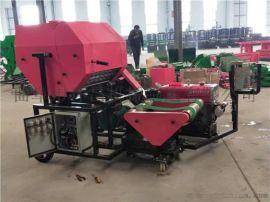 直销养殖青贮打捆包膜机 全自动青储打包机