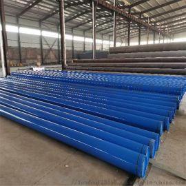 广西大口径涂塑钢管 涂塑钢直波纹管 热浸塑波纹管