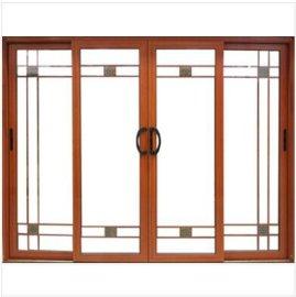 深圳家装  深长江68系列铝合金推拉门 中空隔热隔音玻璃门