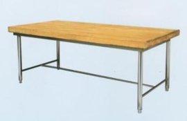厨房操作台——木面工作台
