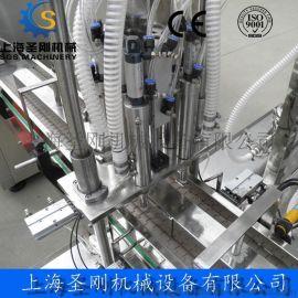 SGSNGX-30/500型全自动高粘度液体灌装旋盖机