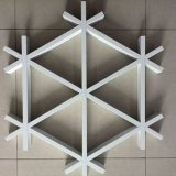 六角形铝格栅 **六角形铝格栅