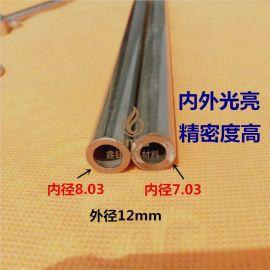 TP316L不锈钢无缝管 10个镍 厚壁管 精密管 304不锈钢管焊