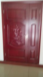 广东实木门厂佛山室内套装门烤漆橡木门