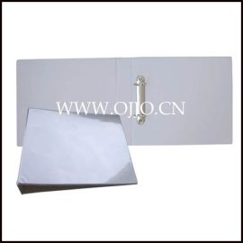 2孔夹 PVC包硬纸板文件夹/资料夹