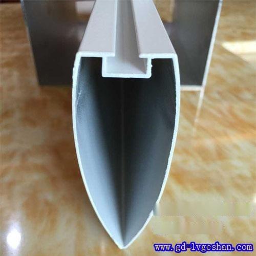 吊顶铝型材 弧形铝方通 河南铝方通