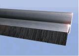 直销H型F型铝合金条刷 门底密封条刷工业机床机械防尘挡水条刷