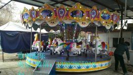 儿童16座折叠转马生产厂家 安徽折叠转马