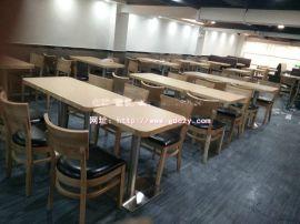 快餐厅桌椅定制款式,横岗快餐厅板式家具价格实惠