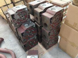 济柴配件(12V190柴油机)缸盖
