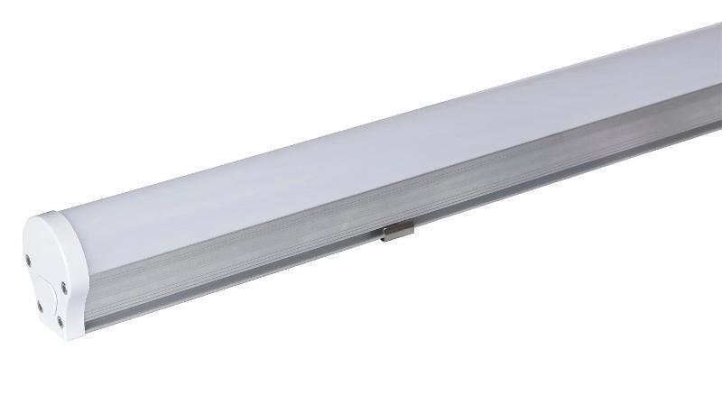 LED線條吊燈長條燈吊頂燈20W40W60W商超節能燈