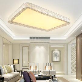 LED平板灯客厅吸顶灯爆款特价 厂家直销LED吸顶灯LED现代客厅方形灯