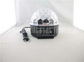 YJ-07带遥控数显512控台LED水晶魔球