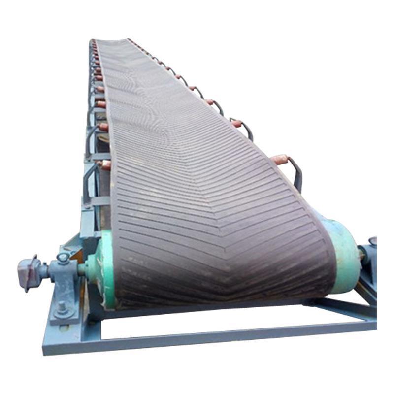 杭州皮带输送机供应铝型材输送机大倾角皮带输送机