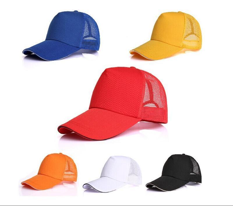 2015新款戶外運動遮陽帽加長沿棒球帽時尚貼標工作帽批發上海廠家