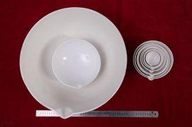 20mm—5000mm蒸发皿陶瓷蒸发皿元皿实验室陶瓷理化瓷氧化铝陶瓷