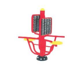 室外健身器材价格 沧州摩背扭腰器 腰背按摩器