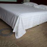 酒店賓館牀上用品,全棉加密緞條牀單,酒店賓館桑拿會所牀單牀笠