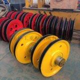 河南華工質量好的軋製滑輪組出售 5t10t16t20t32t滑輪組 規格型號齊全 現貨
