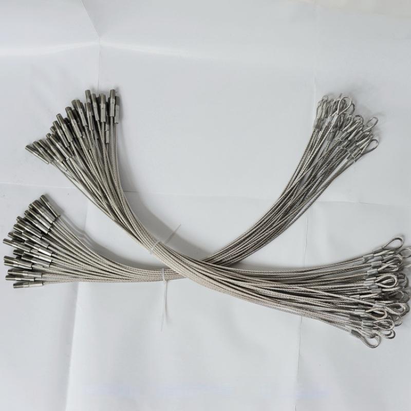 纺织机配件耐磨钢丝绳,纺机用钢丝绳