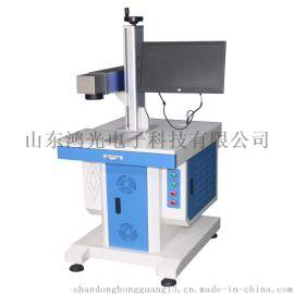 光纤激光打标机可在各种金属及少数非金属产品上标示
